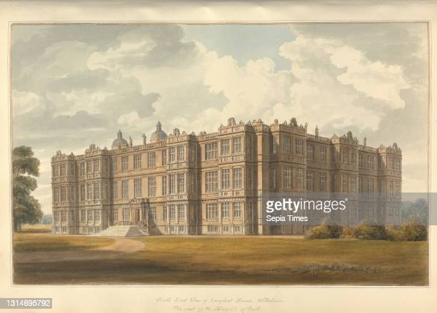South East View of Longleat House, Wiltshire, the Seat of the Marquis of Bath, John Buckler FSA, 1770–1851, British, and John Chessell Buckler,...