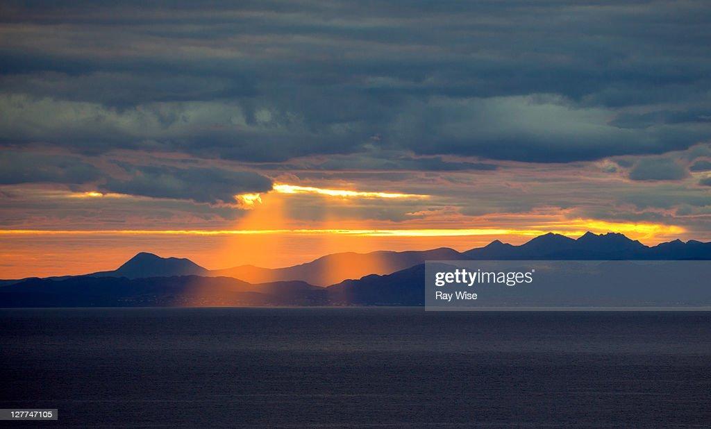South erradale sunrise : Stock Photo