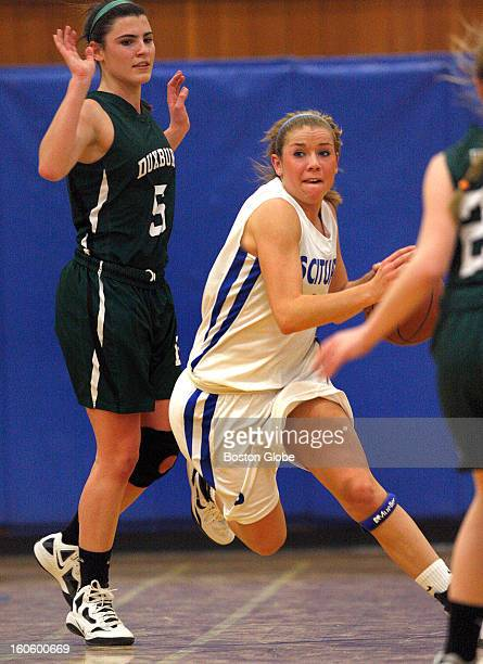 South feature on Scituate High senior point guard Kelly Martin, .