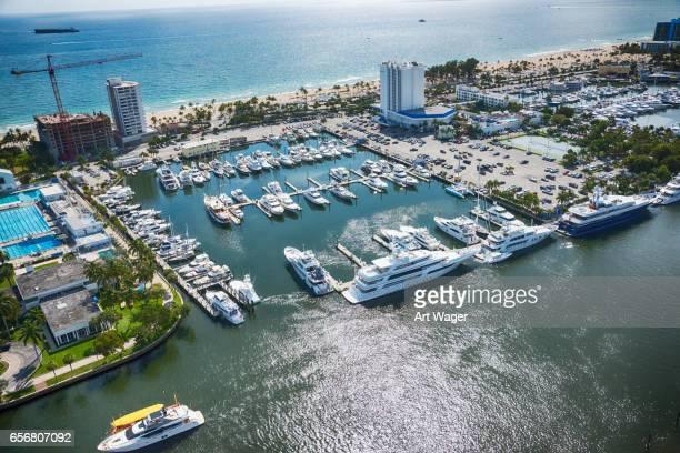 South Florida Marina Aerial
