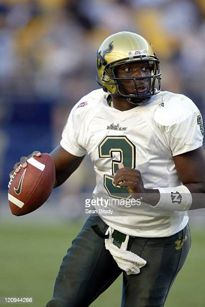 South Florida's Pat Julmiste in action against the Pittsburgh Panthers at Heinz Field in Pittsburgh Pennsylvania on October 15 2005