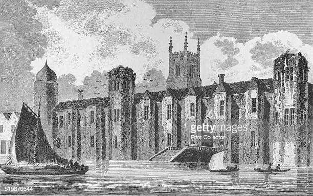 South front of Baynard's Castle London in about 1640 1790 Baynards Castle refers to a number of buildings situated on the Thames The former house was...
