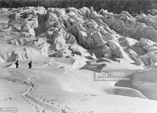 South Georgia mountains Antarctica 1914 Imperial TransAntarctic Expedition 19141916