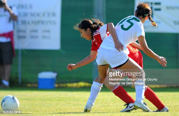 Scott Varley/LANG South girls soccer easily beat visiting Santa Paula 41 in the CIF Southern Section Division IV quarterfinal South's Noelle Ly gets...