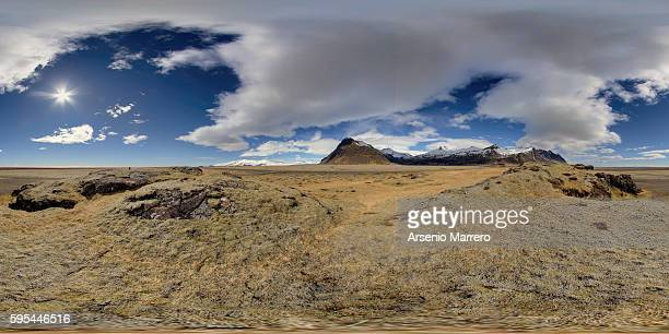 South Iceland in 360 degrees view