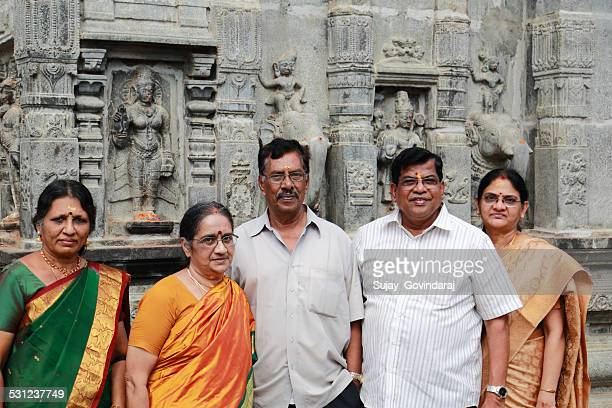 south indian family - pilgrims and indians stock photos and pictures