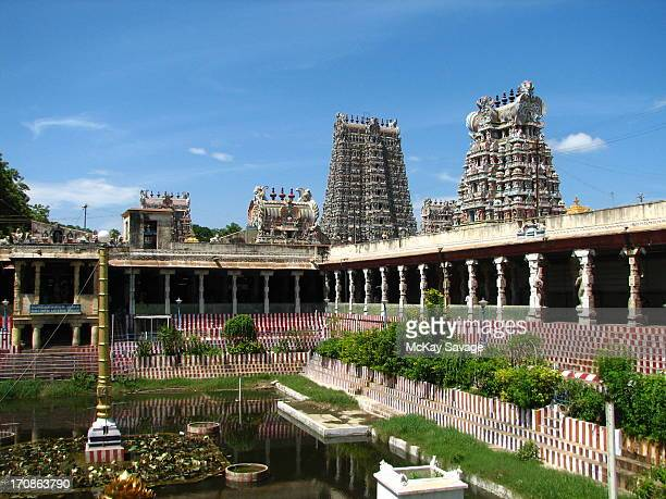 South Indian Meenakshi Temple