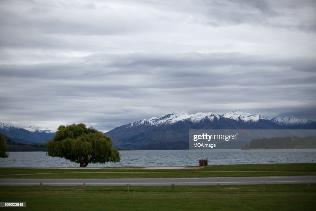 South island scenery,New Zealand : Stock-Foto