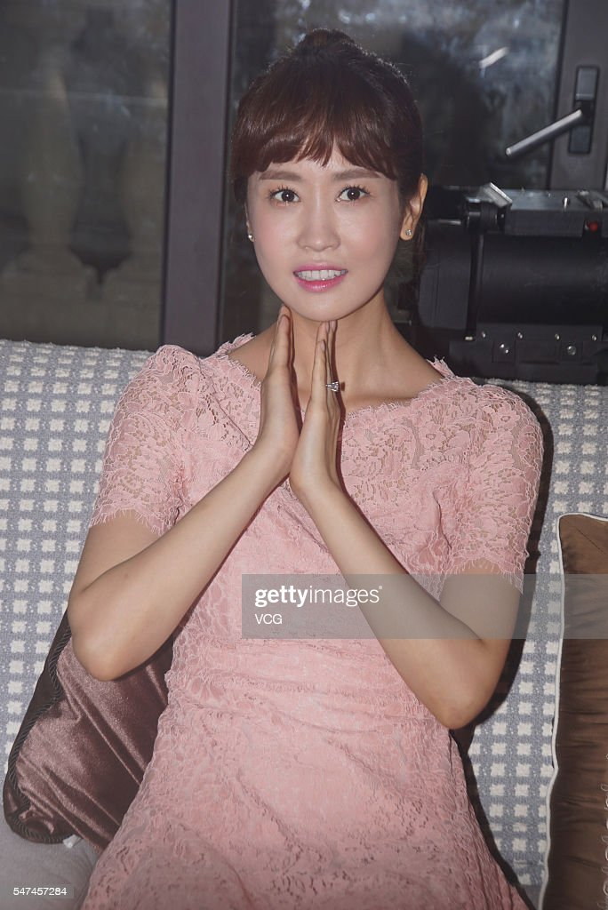 South Korea actress Lee Da Hae attends TV drama 'My Goddess, My