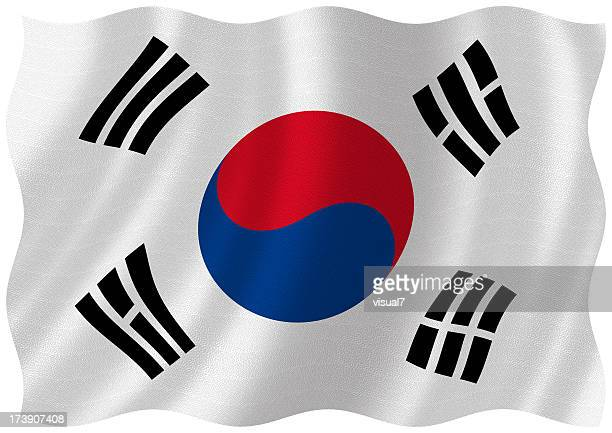 south korean flag stock photos and pictures getty images