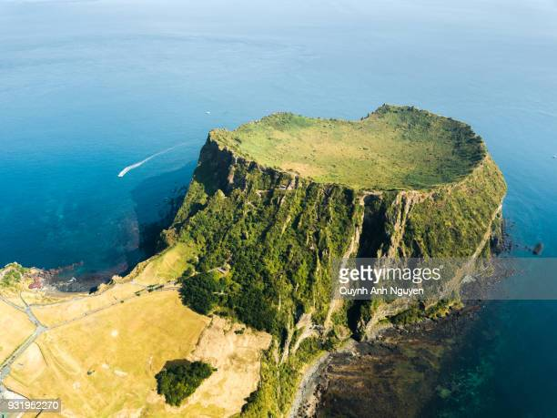South Korea: Seongsan Ilchulbong crater in Jeju Island