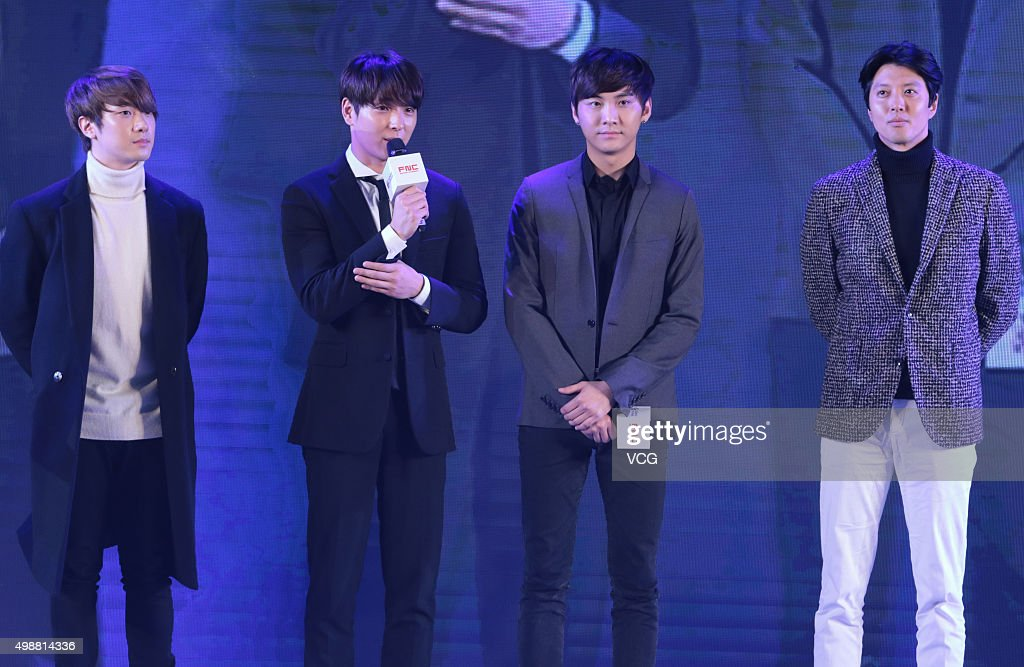 Lee Dong Gun And FTISLAND Attend Signing Ceremony Of FNG In Shanghai