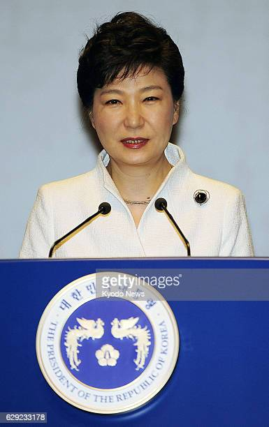 SEOUL South Korea South Korean President Park Geun Hye delivers a speech in Seoul on March 1 during a ceremony marking the 95th anniversary of the...