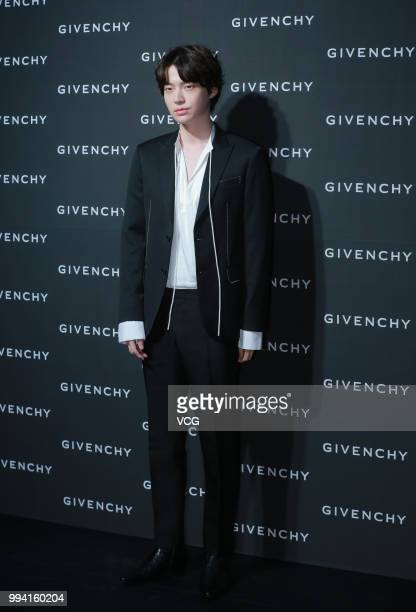 South Korean actor Ahn Jaehyun attends Givenchy event on July 5 2018 in Seoul South Korea