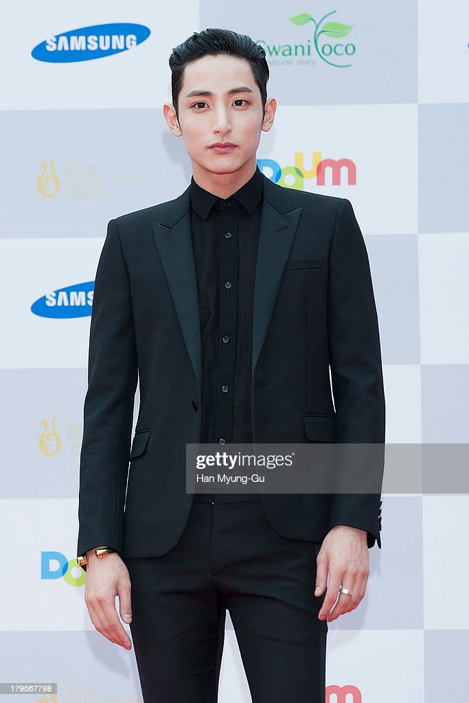 South Korean actor and model Lee Soo-Hyuk arrives at the Seoul International Drama Awards 2013 at National Theater on September 5, 2013 in Seoul, South Korea.