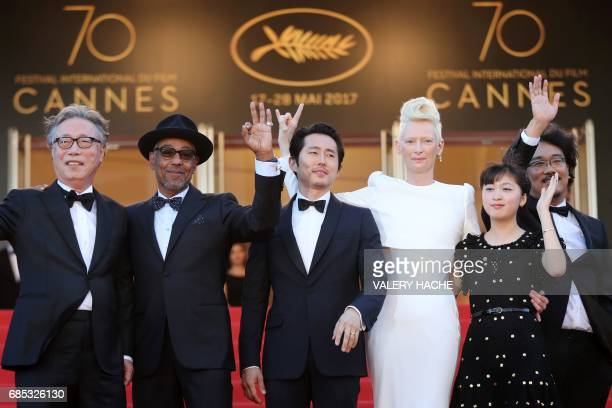 South Korean actor Byung Heebong Danishborn actor Giancarlo Esposito USSouth Korean actor Steven Yeun British actress Tilda Swinton South Korean...