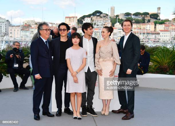South Korean actor Byung Heebong USSouth Korean actor Steven Yeun South Korean actress Ahn Seohyun Canadian actor Devon Bostick British actress Lily...