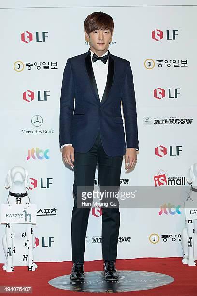 South Korean actor Choi Jin-Hyuk attends the 50th Paeksang Arts Awards on May 27, 2014 in Seoul, South Korea.
