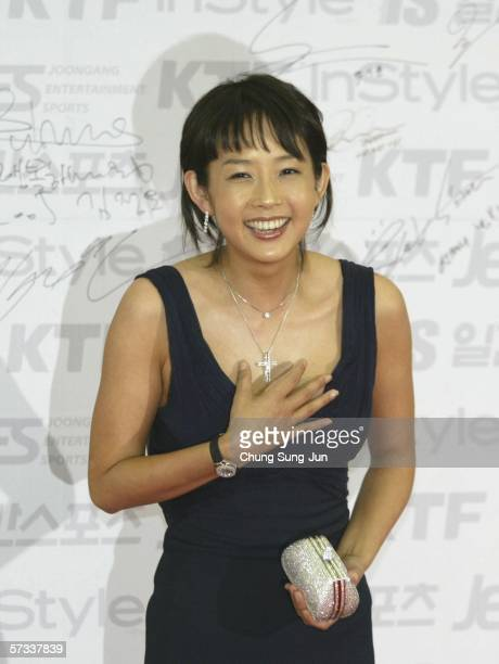 South Korean actor Choi JinSil arrives for the 42nd annual Paek Sang Art Awards at the National theater April 14 2006 in Seoul South Korea