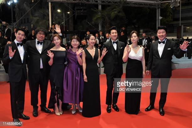 South Korean actor Choi Wooshik South Korean director Bong JoonHo South Korean actress Park Sodam South Korean actress Lee JungEun South Korean...