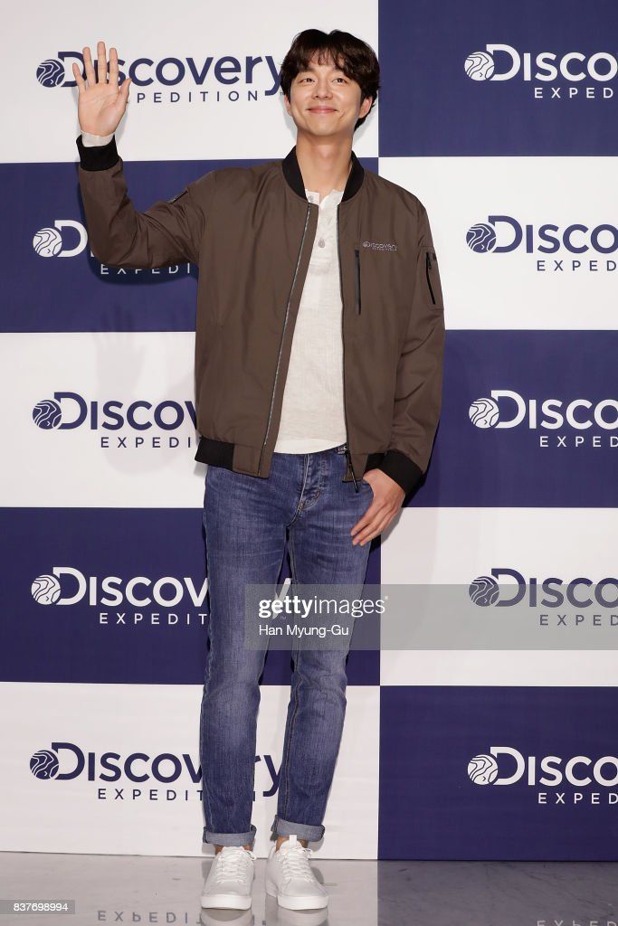 South Korean actor Gong Yoo attends the 'Discovery Expedition' I Am A Discoverer - Brand Showcase on August 23, 2017 in Seoul, South Korea.
