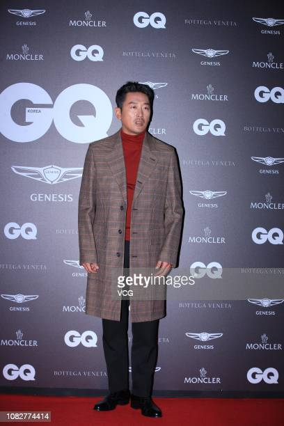 South Korean actor Ha Jungwoo attends GQ Korea '2018 GQ Night' on December 13 2018 in Seoul South Korea