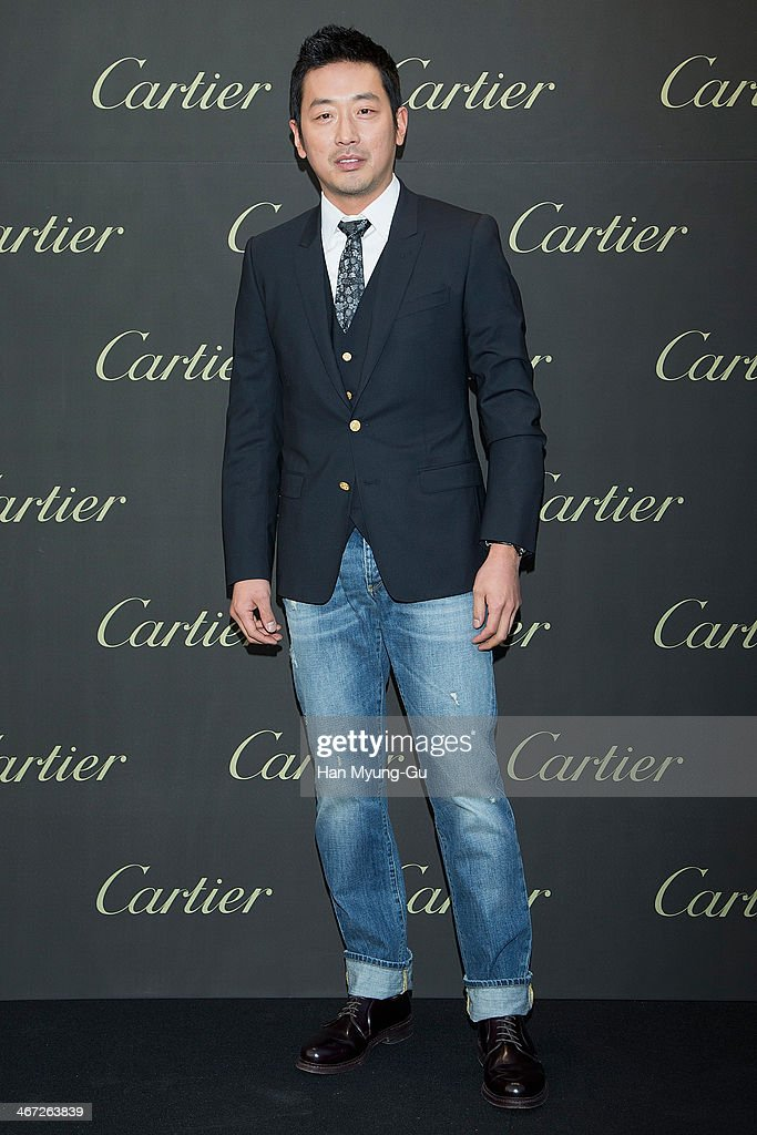 Actor Ha Jung-Woo's Exhibits Painting With Cartier