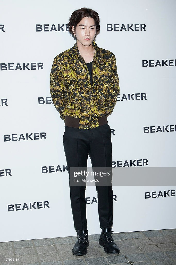 South Korean actor Hong Jong-Hyun attends a promotional event for the 'BEAKER' Gangnam Flagship Store Opening on May 3, 2013 in Seoul, South Korea.
