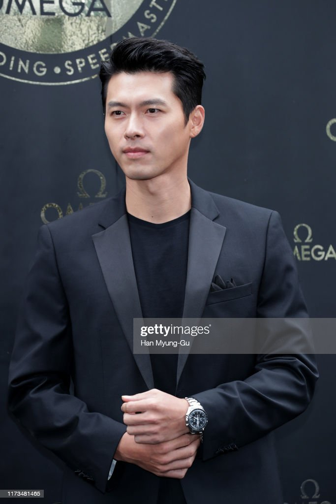 Hyun Bin Attends Photocall for OMEGA : News Photo