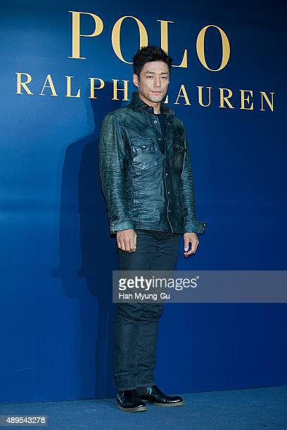 South Korean actor Ji Jin-Hee attends the launch party for 'Polo Ralph Lauren' Shinsa Store Opening on September 22, 2015 in Seoul, South Korea.
