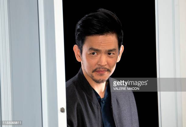South Korean actor John Cho attends CBS' The Twilight Zone premiere at the Harmony Gold Preview House on March 26 2019 in Los Angeles California