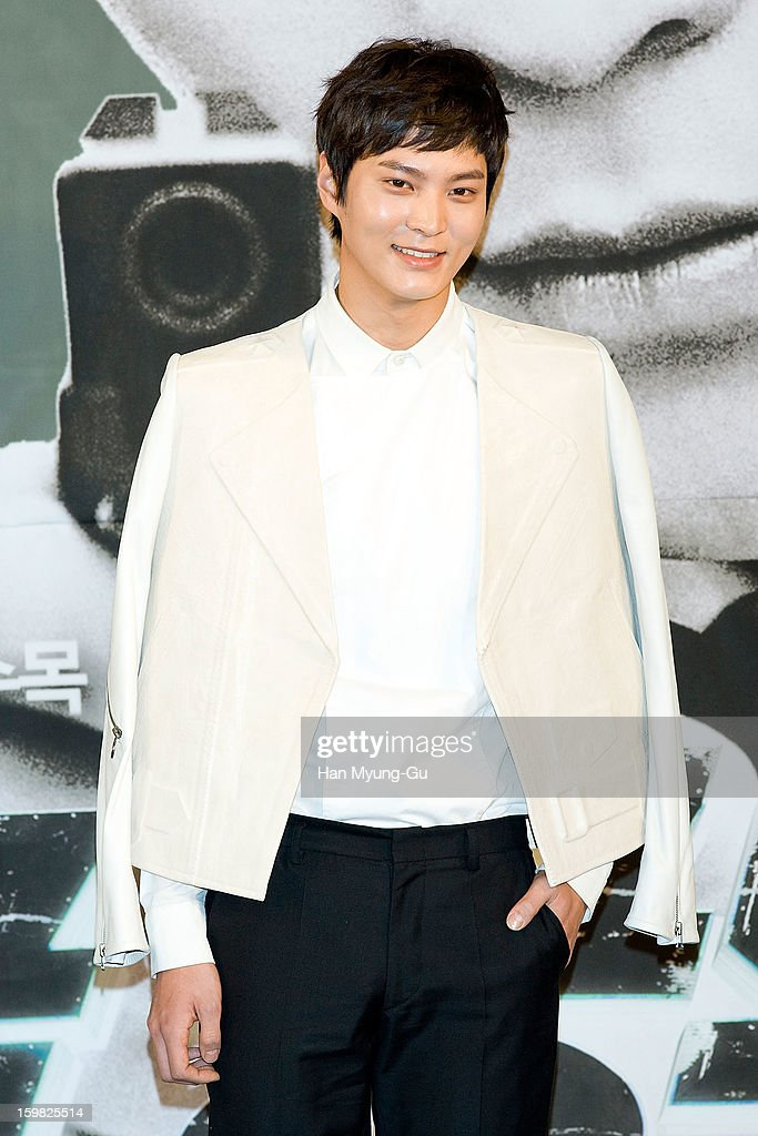 South Korean actor Joo Won attends the MBC Drama '7th Grade Civil Servant' Press Conference at 63 Building on January 21, 2013 in Seoul, South Korea. The drama will open on January 23 in South Korea.