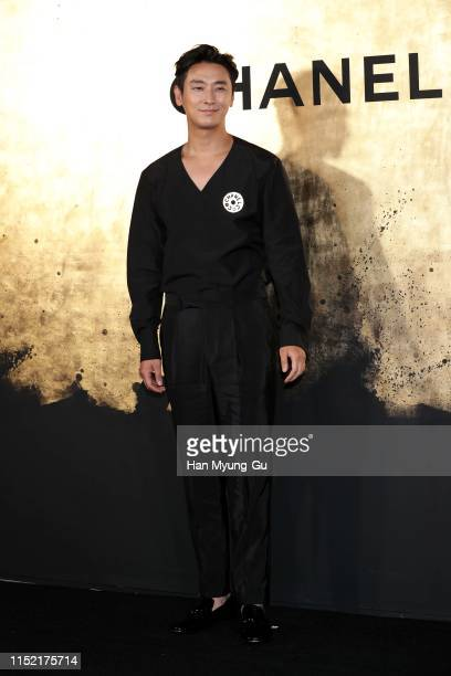 South Korean actor Ju JiHoon attends the CHANEL ParisNew York 2018'19 Metiers d'Art show on May 28 2019 in Seoul South Korea