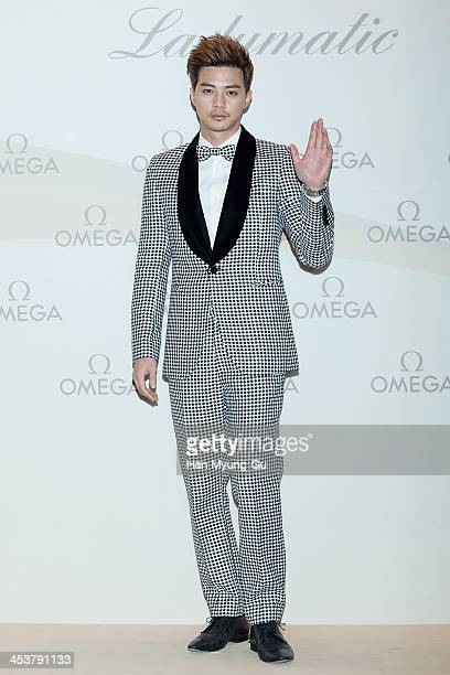 South Korean actor Kim JiHoon attends Omega Ladymatic Launch Party at Shilla Hotel on December 5 2013 in Seoul South Korea