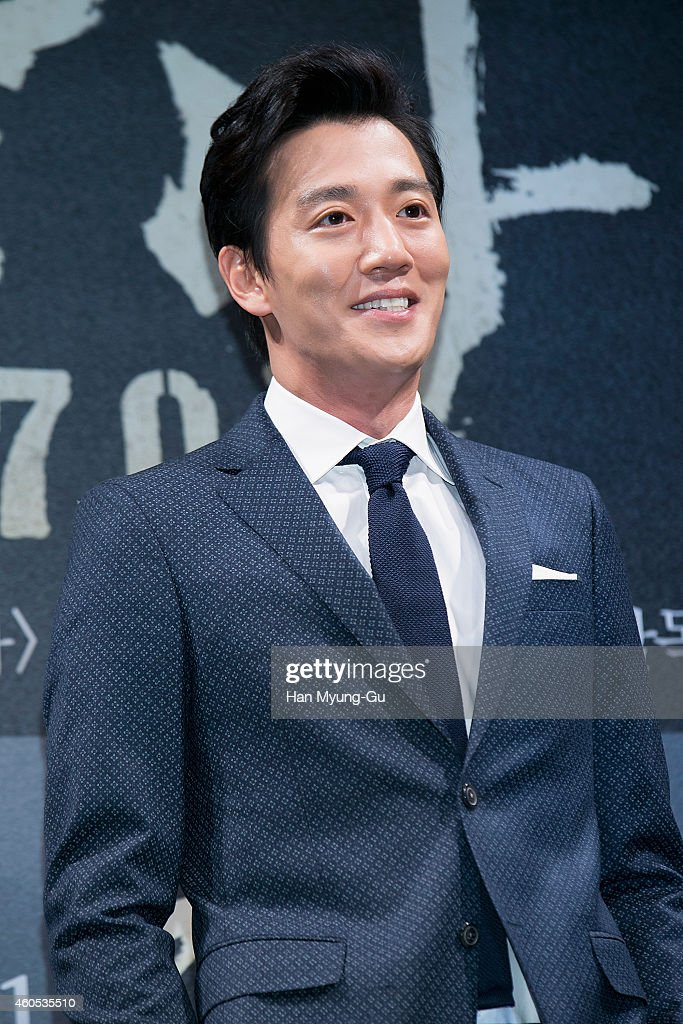 South Korean actor Kim Rae-Won attends the press conference