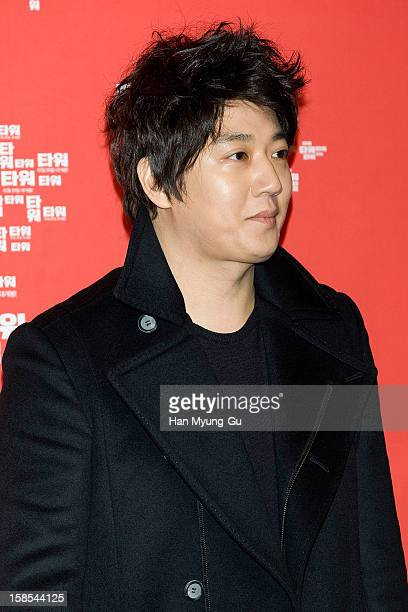 South Korean actor Kim RaeWon attends the 'Tower' VIP Screening at CGV on December 18 2012 in Seoul South Korea The film will open on December 25 in...