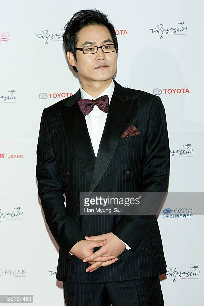 South Korean actor Kim SungKyun attends the 49th Daejong Film Awards at KBS Hall on October 30 2012 in Seoul South Korea