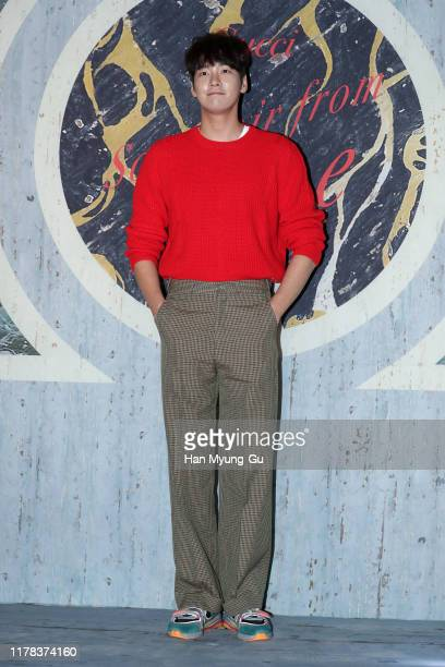 South Korean actor Kim YoungKwang attends the Photocall for 'Gucci' Cruise 2020 Campaign Party on October 01 2019 in Seoul South Korea