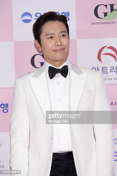 South Korean actor Lee ByungHun attends the 56th Daejong Film Awards at Grand Wallhill hotel on June 03 2020 in Seoul South Korea