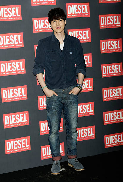 South Korean actor Lee DongWook arrives for the 'Diesel' Flagship Store Opening on September 7 2012 in Seoul South Korea