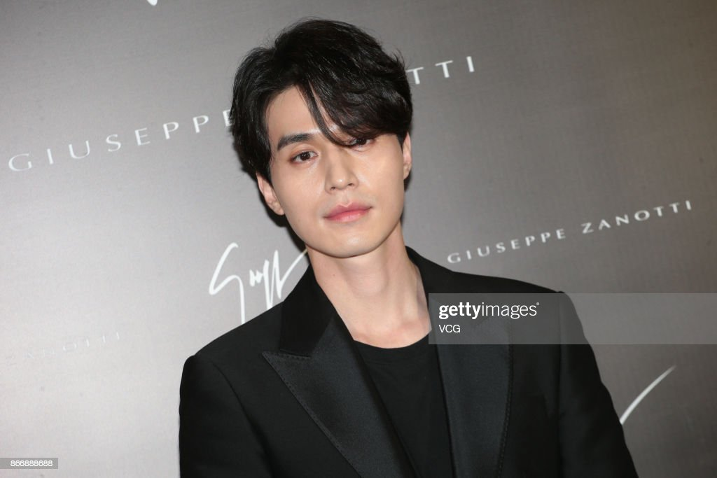 South Korean actor Lee Dongwook attends Giuseppe Zanotti promotional event on October 26 2017 in Hong Kong Hong Kong