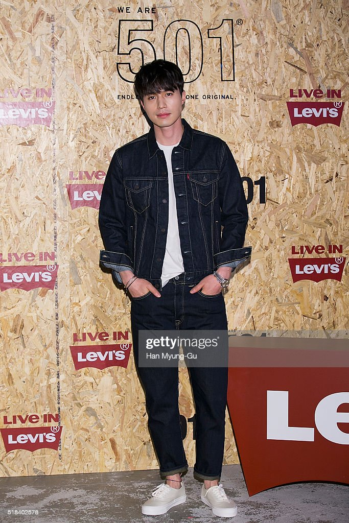 South Korean actor Lee DongWook attends the photocall for Levi's 'We Are 501' on March 31 2016 in Seoul South Korea