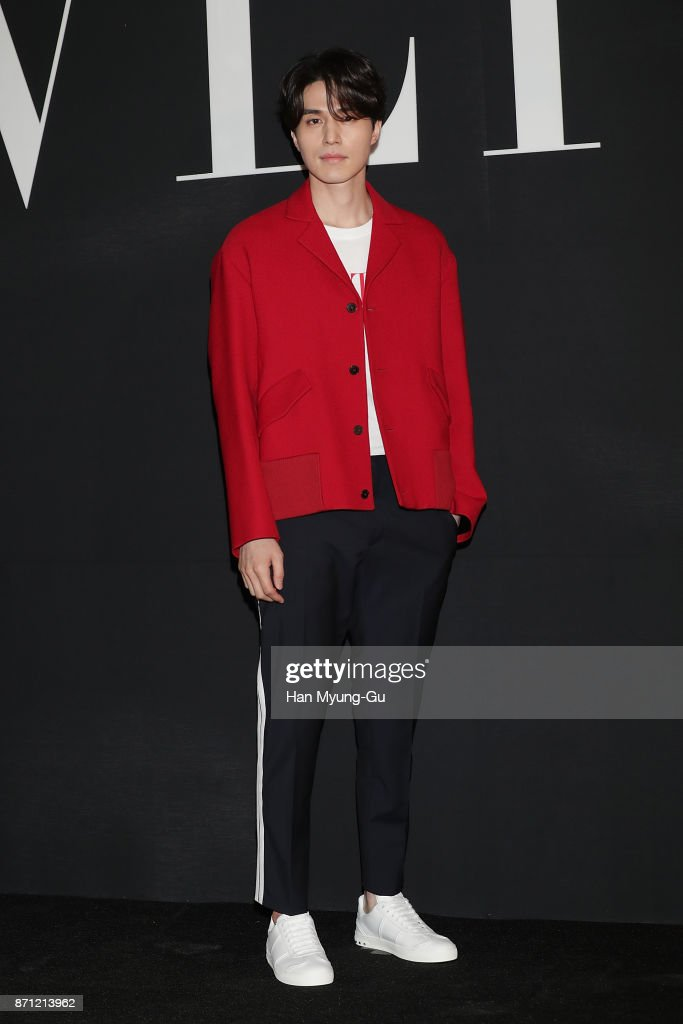 South Korean actor Lee Dong-Wook attends the 'VALENTINO' The VLTN Pop-Up Store Opening on November 7, 2017 in Seoul, South Korea.