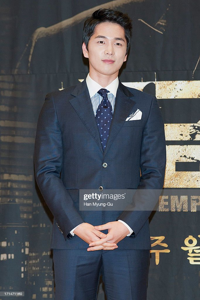 South Korean actor Lee Hyun-Jin attends during the SBS Drama 'Empire of Gold' press conference on June 25, 2013 in Seoul, South Korea. The drama will open on July 01 in South Korea.