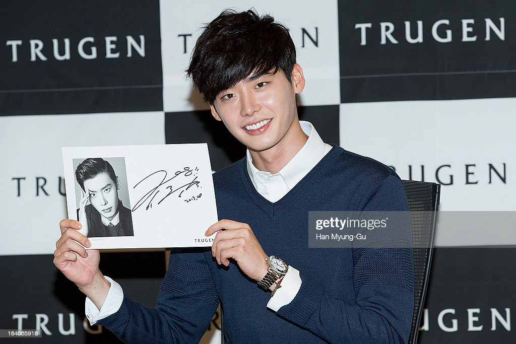 Lee Jong-Suk attends Autograph Session For Trugen