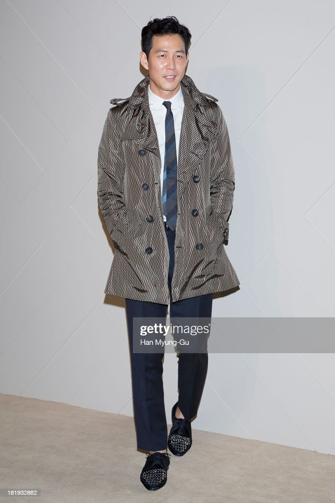 South Korean actor Lee Jung-Jae attends Burberry 'Art of The Trench' on September 26, 2013 in Seoul, South Korea.