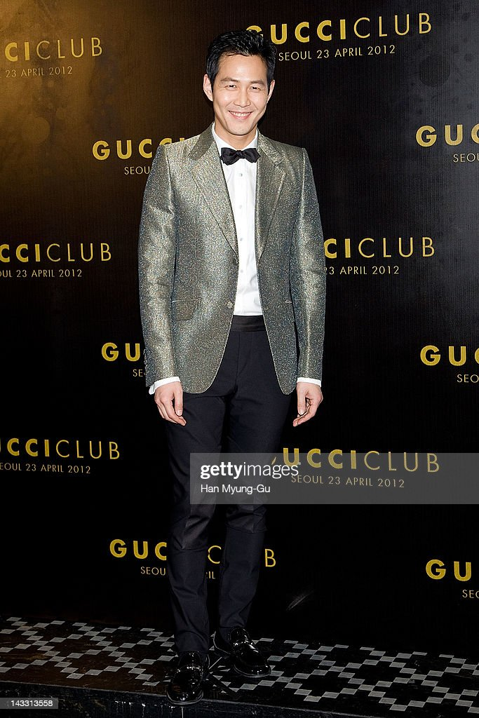 South Korean actor Lee Jung-Jae attends the Reopening of Gucci's Seoul Flagship Store on April 23, 2012 in Seoul, South Korea.