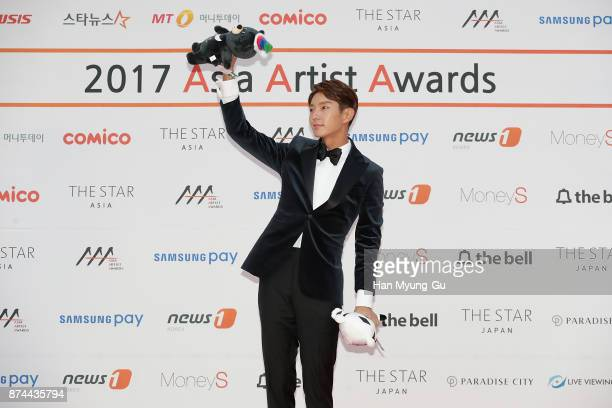 South Korean actor Lee JunKi attends the 2017 Asia Artist Awards on November 15 2017 in Seoul South Korea