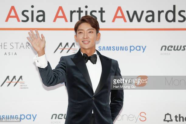 South Korean actor Lee JunKi attends the 2017 Asia Artist Awards on November 15 2017 in Seoul South Korea