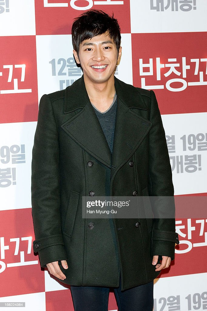 South Korean actor Lee Sang-Yeob attends the 'Love 119' VIP Screening at Kyung Hee University on December 11, 2012 in Seoul, South Korea. The film will open on December 19 in South Korea.